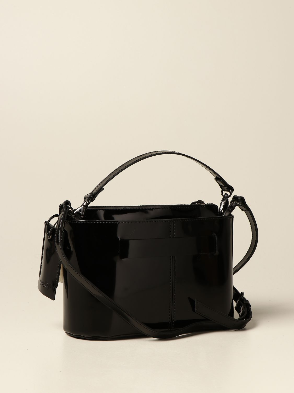 Сумка с короткими ручками Marsell: Наплечная сумка Женское Marsell черный 2