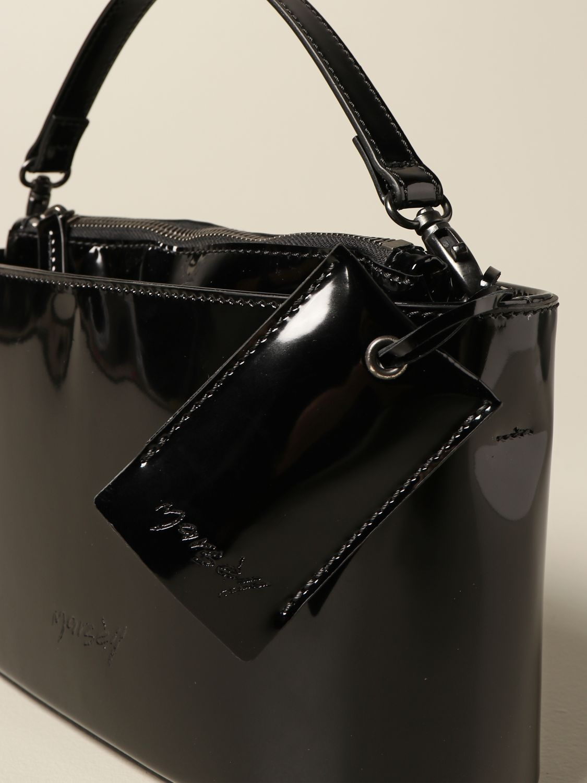 Сумка с короткими ручками Marsell: Наплечная сумка Женское Marsell черный 3