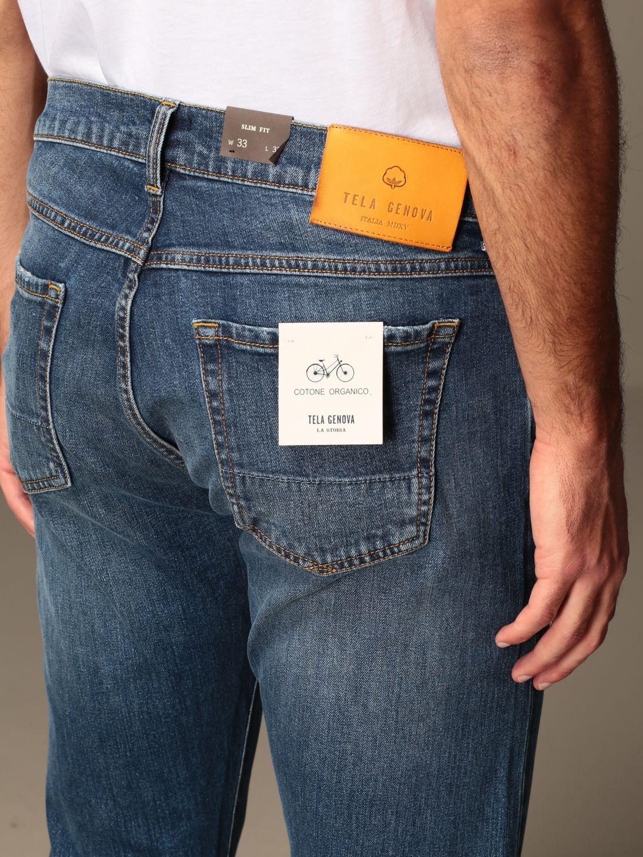 Jeans Tela Genova: Jeans hombre Tela Genova denim 3