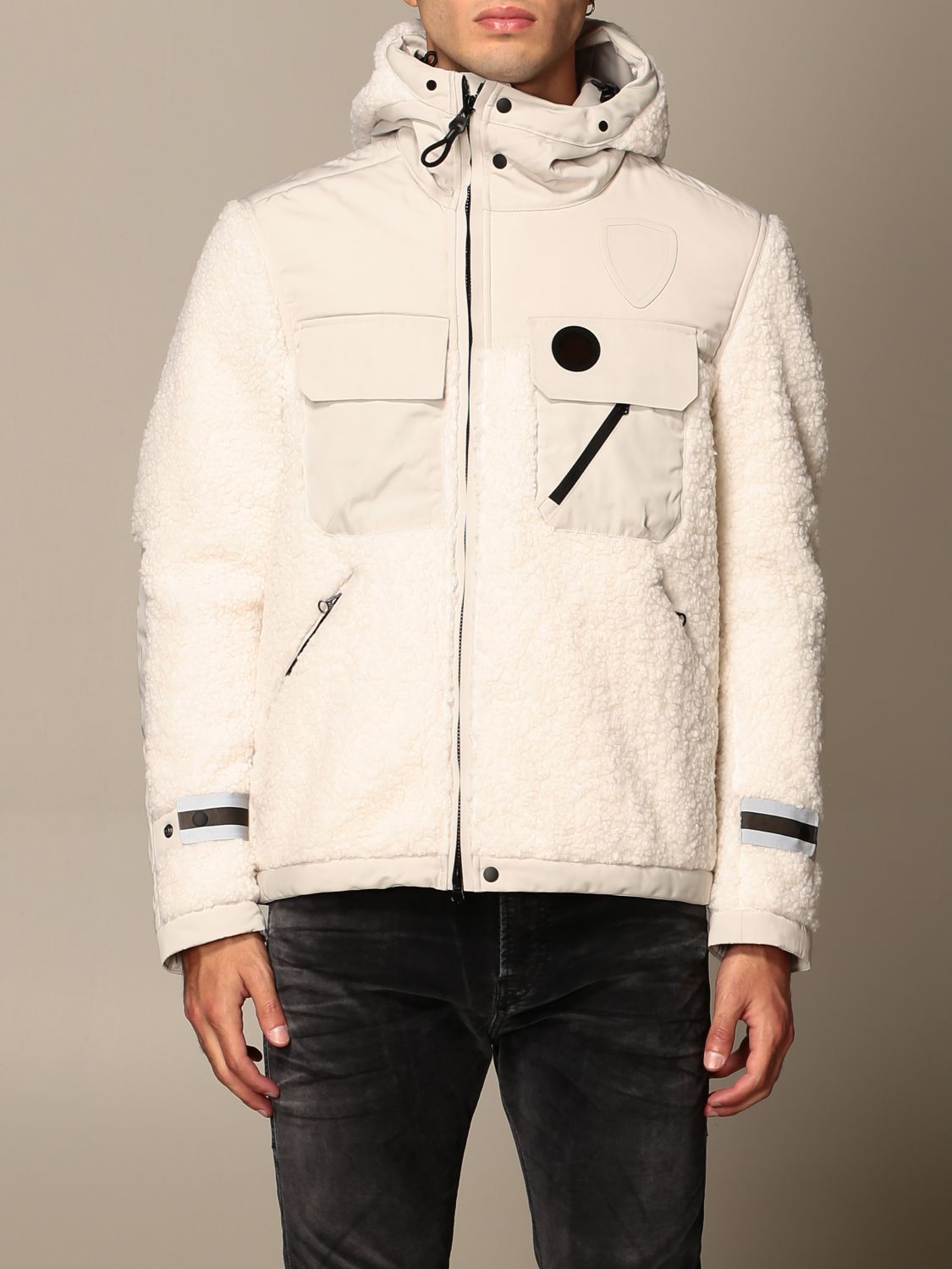 Jacket B.+Plus: Jacket men B.+plus white 1