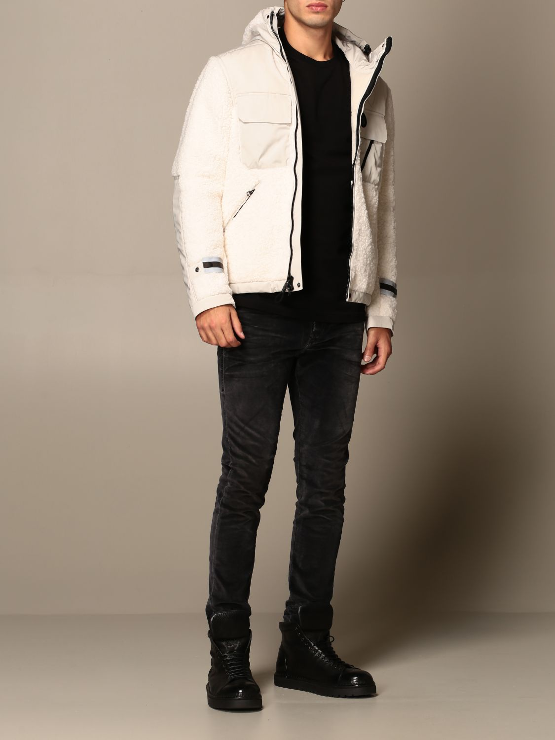 Jacket B.+Plus: Jacket men B.+plus white 2