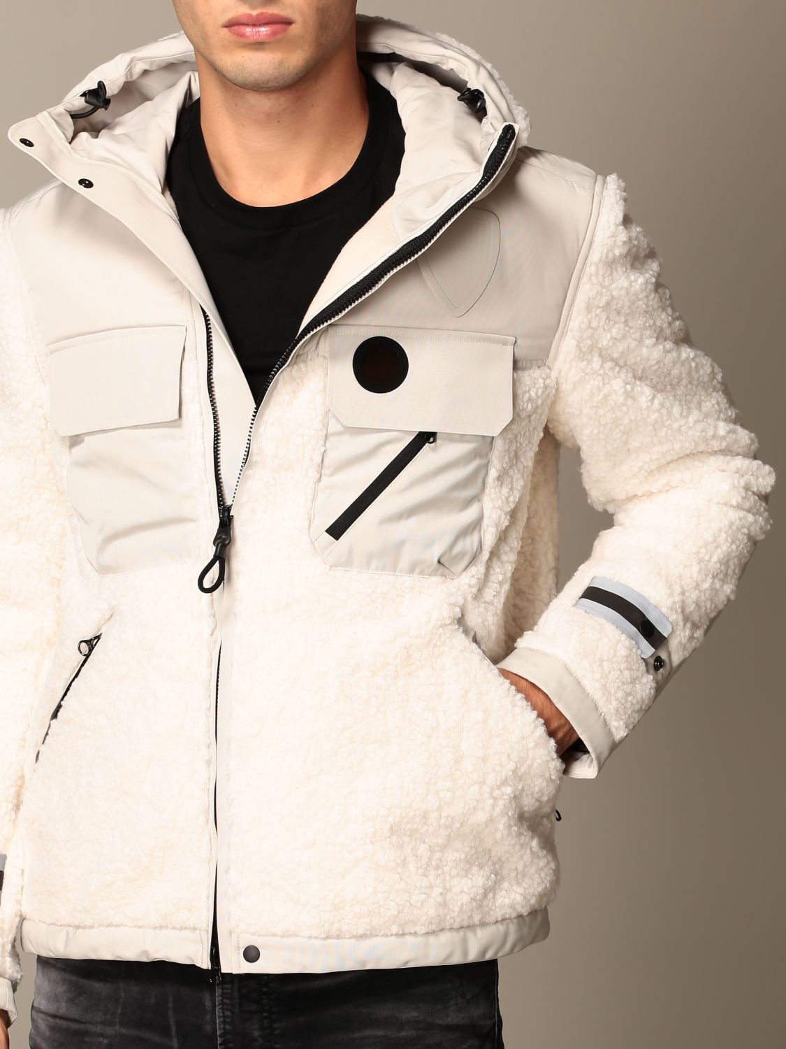 Jacket B.+Plus: Jacket men B.+plus white 4