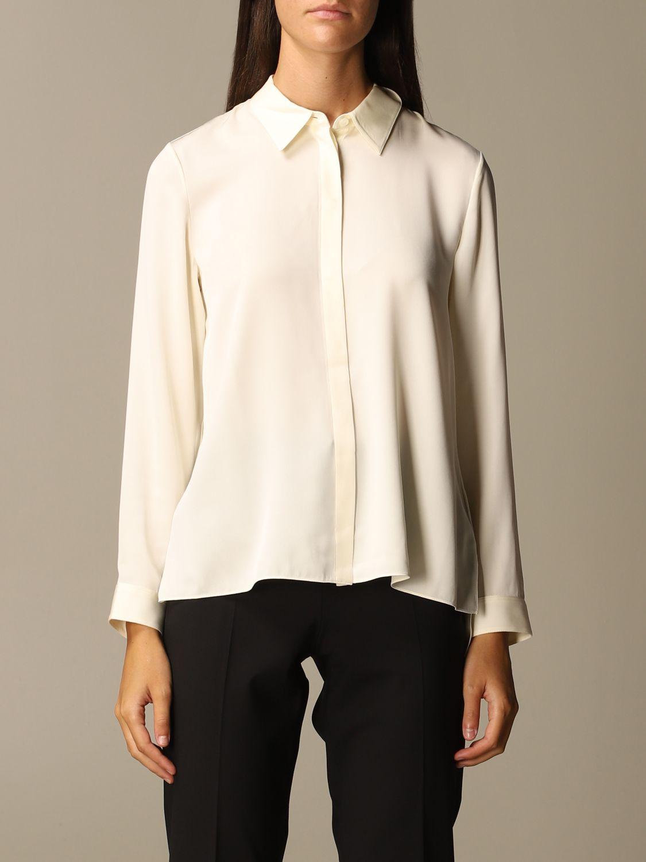 衬衫 Theory: 衬衫 女士 Theory 白色 1