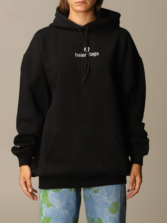Sweatshirt Balenciaga: Sweatshirt women Balenciaga black 1