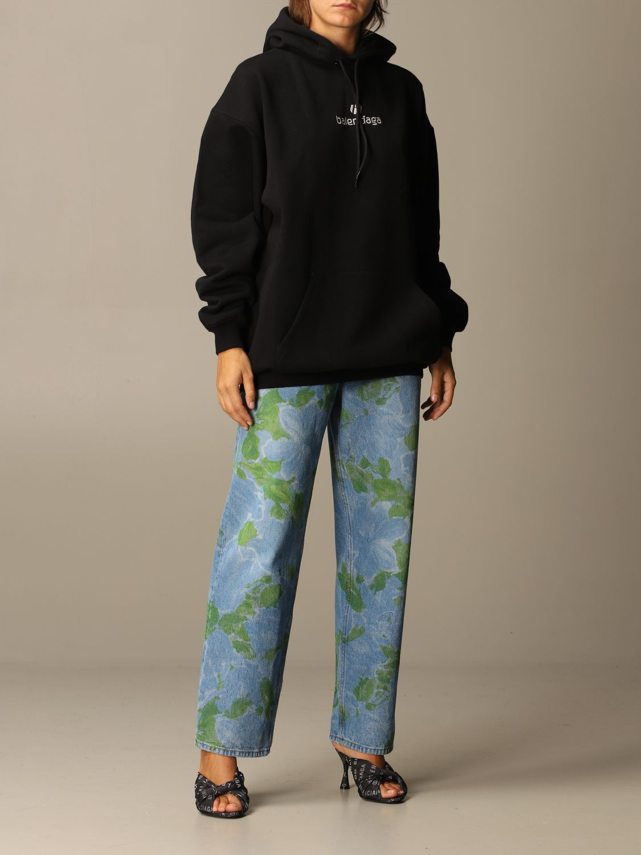 Sweatshirt Balenciaga: Sweatshirt women Balenciaga black 2