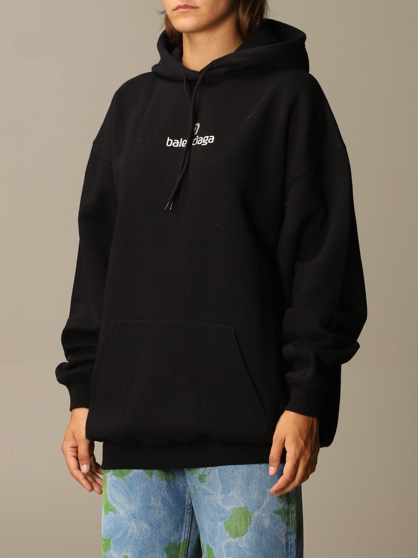 Sweatshirt Balenciaga: Sweatshirt women Balenciaga black 4
