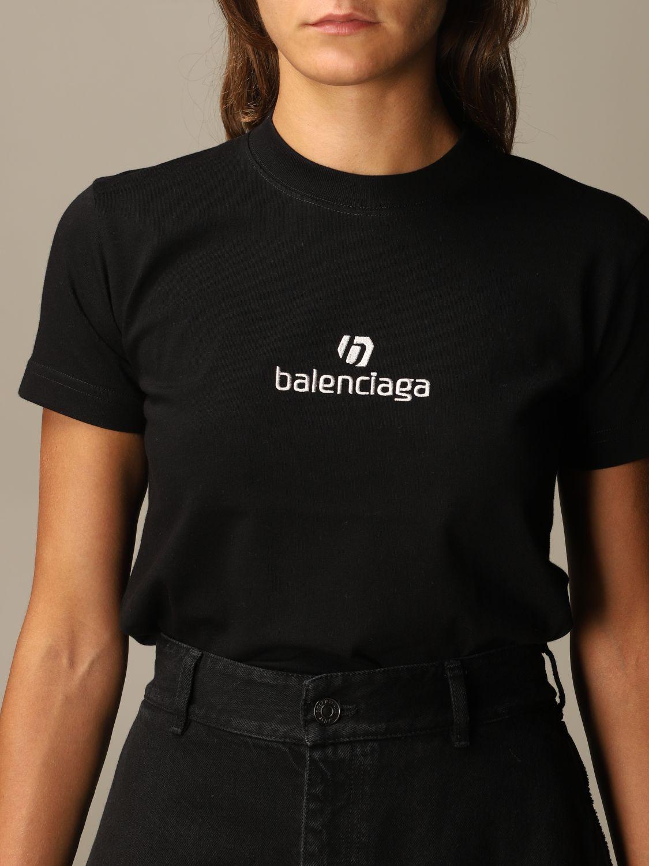 T-Shirt Balenciaga: T-shirt women Balenciaga black 5