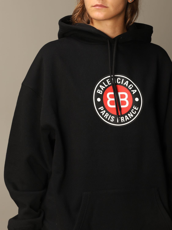 Sweatshirt Balenciaga: Sweatshirt women Balenciaga black 5
