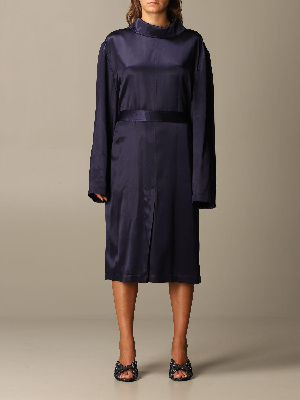 Kleid Balenciaga: Kleid damen Balenciaga navy 1