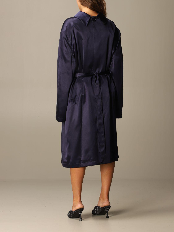 Kleid Balenciaga: Kleid damen Balenciaga navy 2