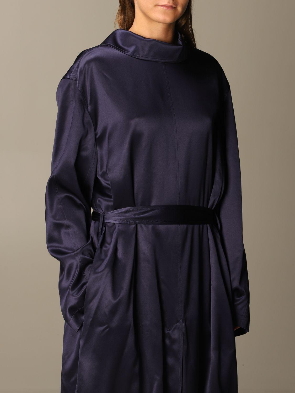 Kleid Balenciaga: Kleid damen Balenciaga navy 4