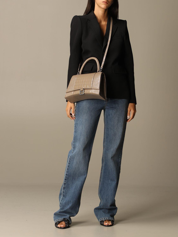 Handbag Balenciaga: Shoulder bag women Balenciaga dove grey 2