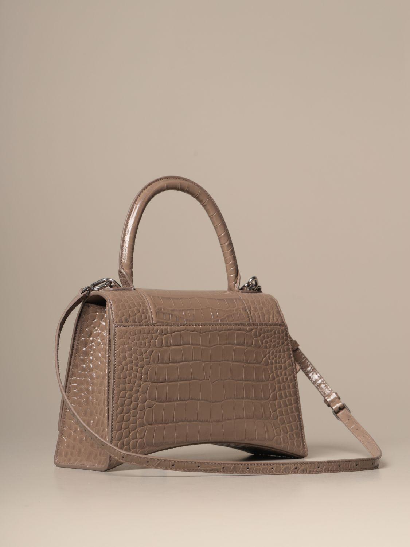 Handbag Balenciaga: Shoulder bag women Balenciaga dove grey 3