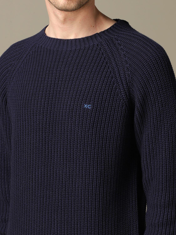 Jersey hombre Xc azul marino 3