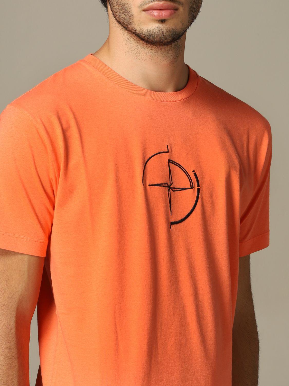 T恤 男士 Stone Island 橙色 3