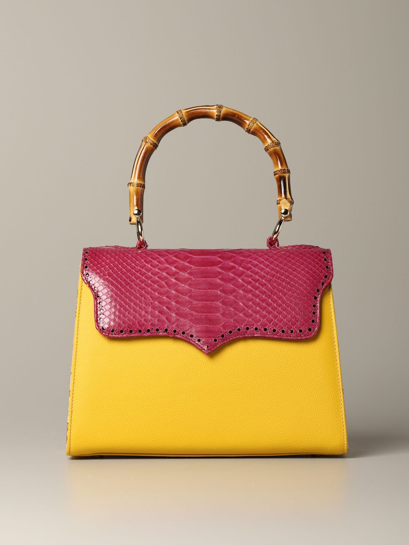 Sac porté main Tari' Rural Design: Sac porté épaule femme Tari' Rural Design jaune 1
