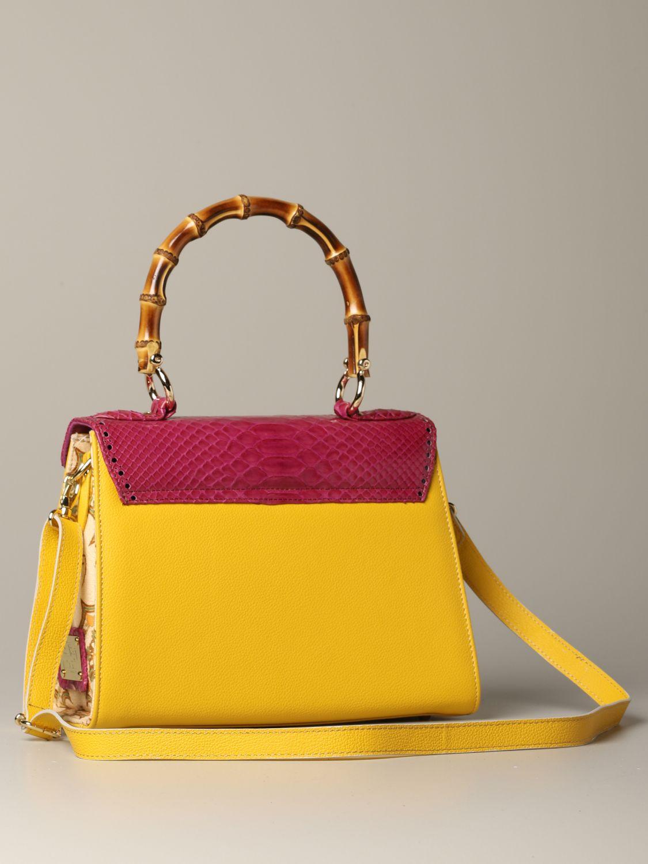Sac porté main Tari' Rural Design: Sac porté épaule femme Tari' Rural Design jaune 2