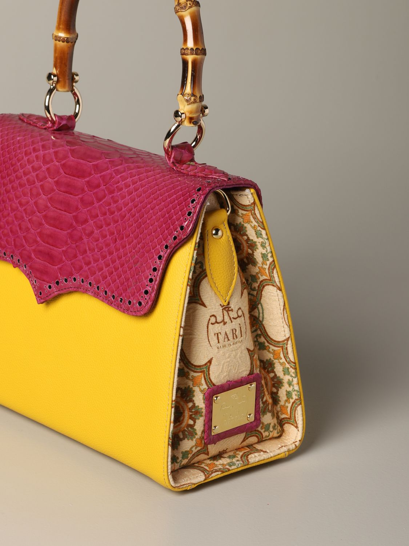 Sac porté main Tari' Rural Design: Sac porté épaule femme Tari' Rural Design jaune 3