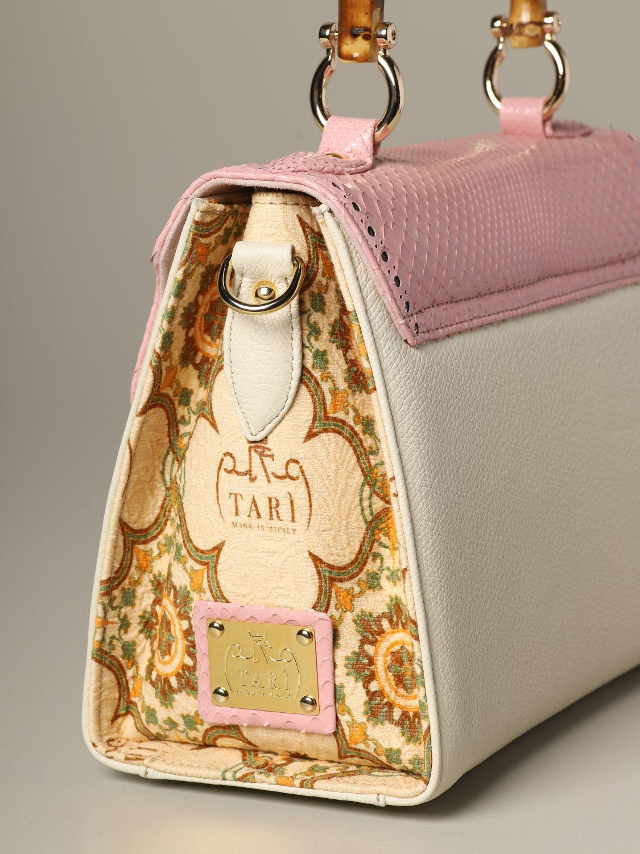 Sac porté main Tari' Rural Design: Sac porté épaule femme Tari' Rural Design rose 3