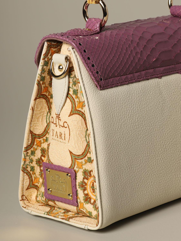Sac porté main Tari' Rural Design: Sac porté épaule femme Tari' Rural Design jaune crème 3