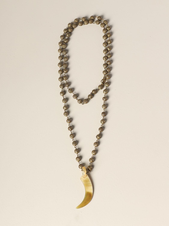 Gioielli Allujewels: Collana Filigrana Allu'jewels con corno bronzo 1