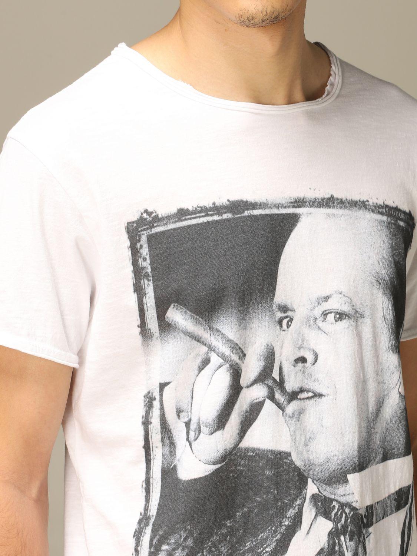 T-Shirt 1921: T-shirt herren 1921 weiß 3
