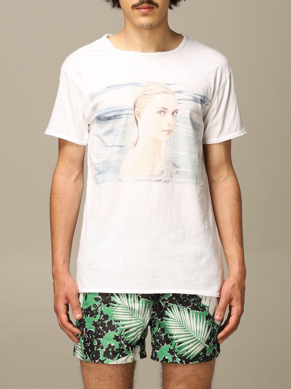 T-shirt 1921: Mezza manica girocollo stampa bianco 1