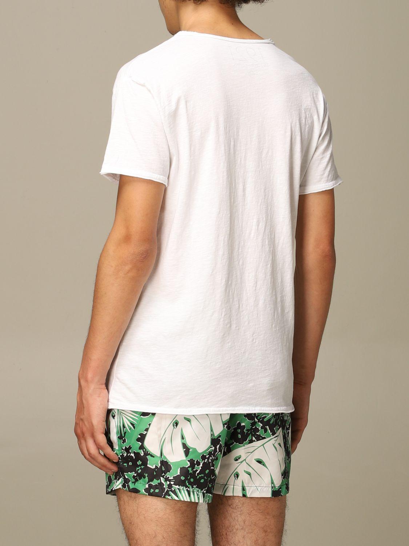T-shirt 1921: Mezza manica girocollo stampa bianco 2