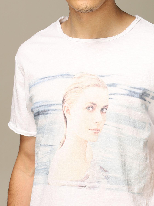 T-shirt 1921: Mezza manica girocollo stampa bianco 3