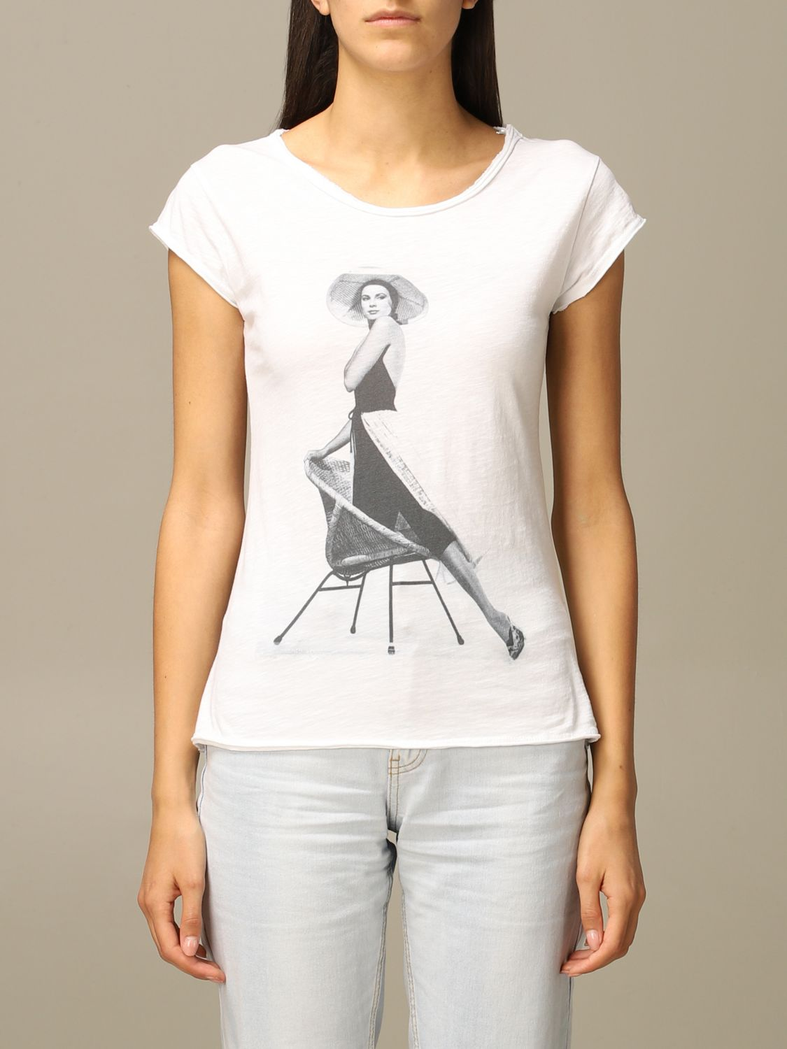 T-Shirt 1921: T-shirt women 1921 white 1
