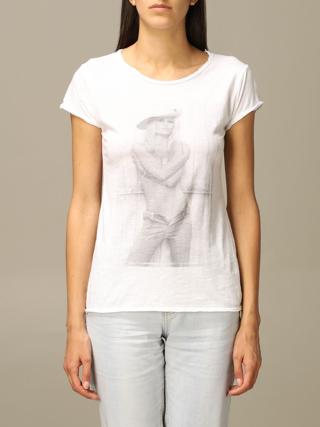 T-Shirt 1921: 1921 short-sleeved T-shirt with print white 1