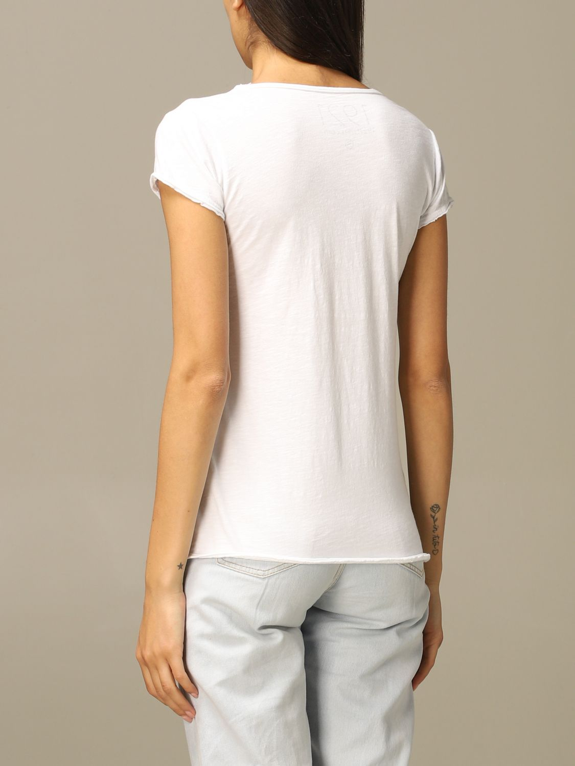 T-Shirt 1921: 1921 short-sleeved T-shirt with print white 2