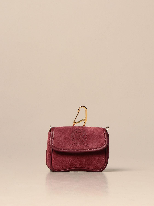 Mini bolso Hilfiger Collection: Bolso de hombro mujer Hilfiger Collection granate 1