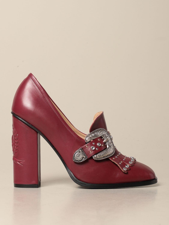 Absatzschuhe Hilfiger Collection: Schuhe damen Hilfiger Collection burgunderrot 1
