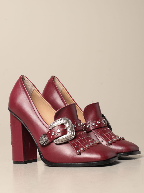 Absatzschuhe Hilfiger Collection: Schuhe damen Hilfiger Collection burgunderrot 2