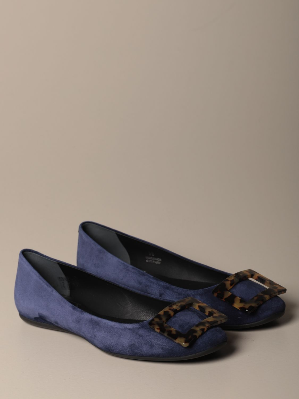 балетки Roger Vivier: Обувь Женское Roger Vivier синий 2
