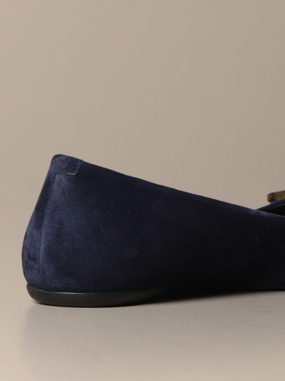балетки Roger Vivier: Обувь Женское Roger Vivier синий 3
