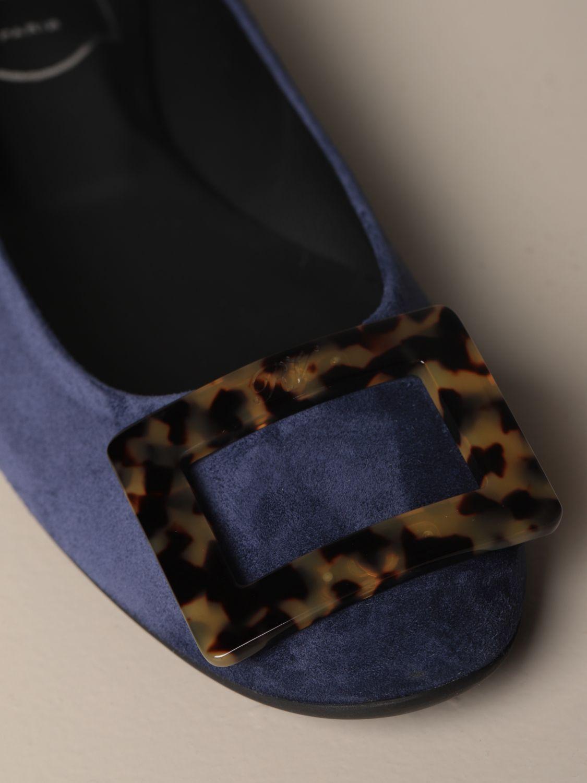 балетки Roger Vivier: Обувь Женское Roger Vivier синий 4