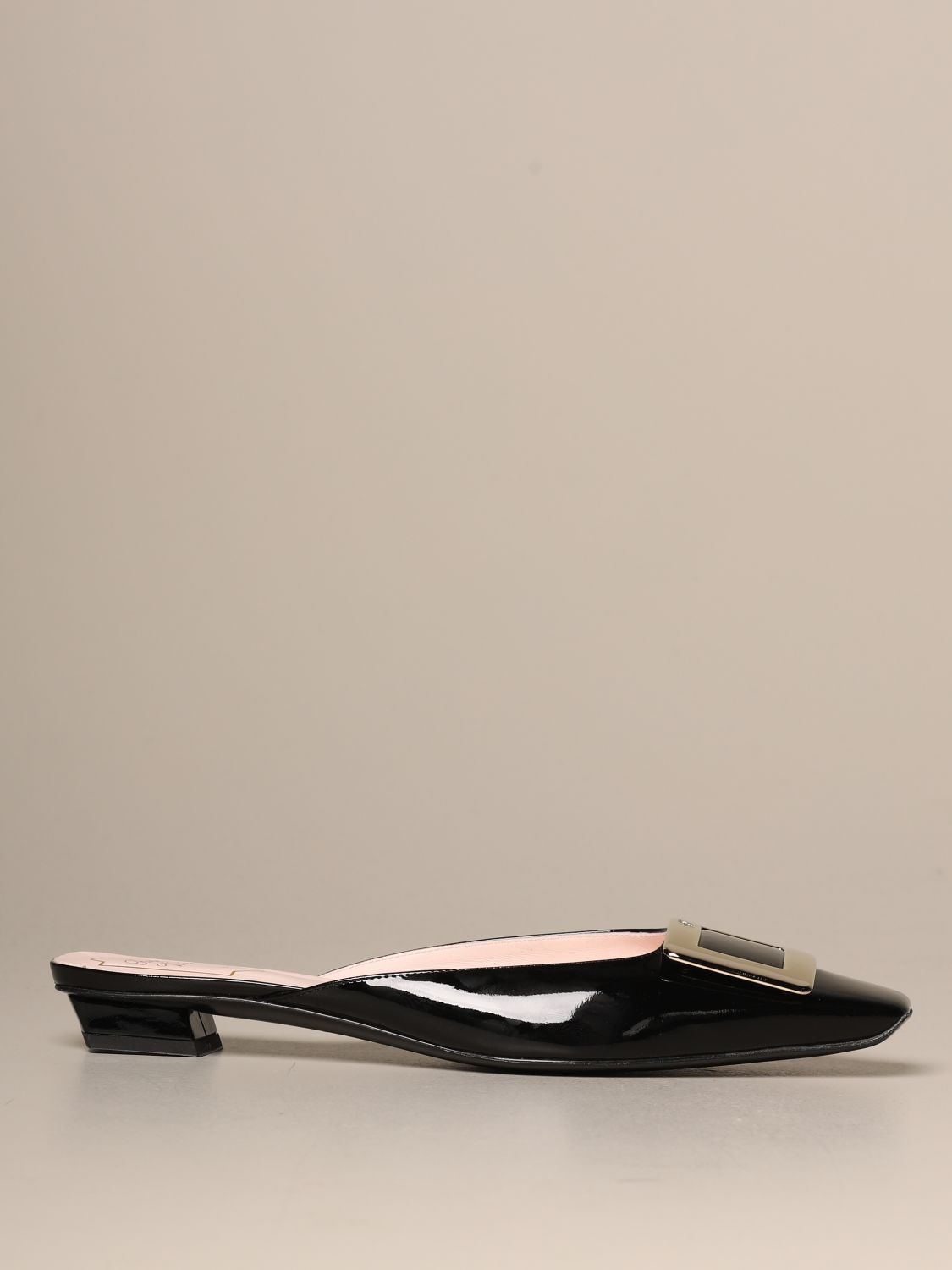 Flat shoes Roger Vivier: Shoes women Roger Vivier black 1