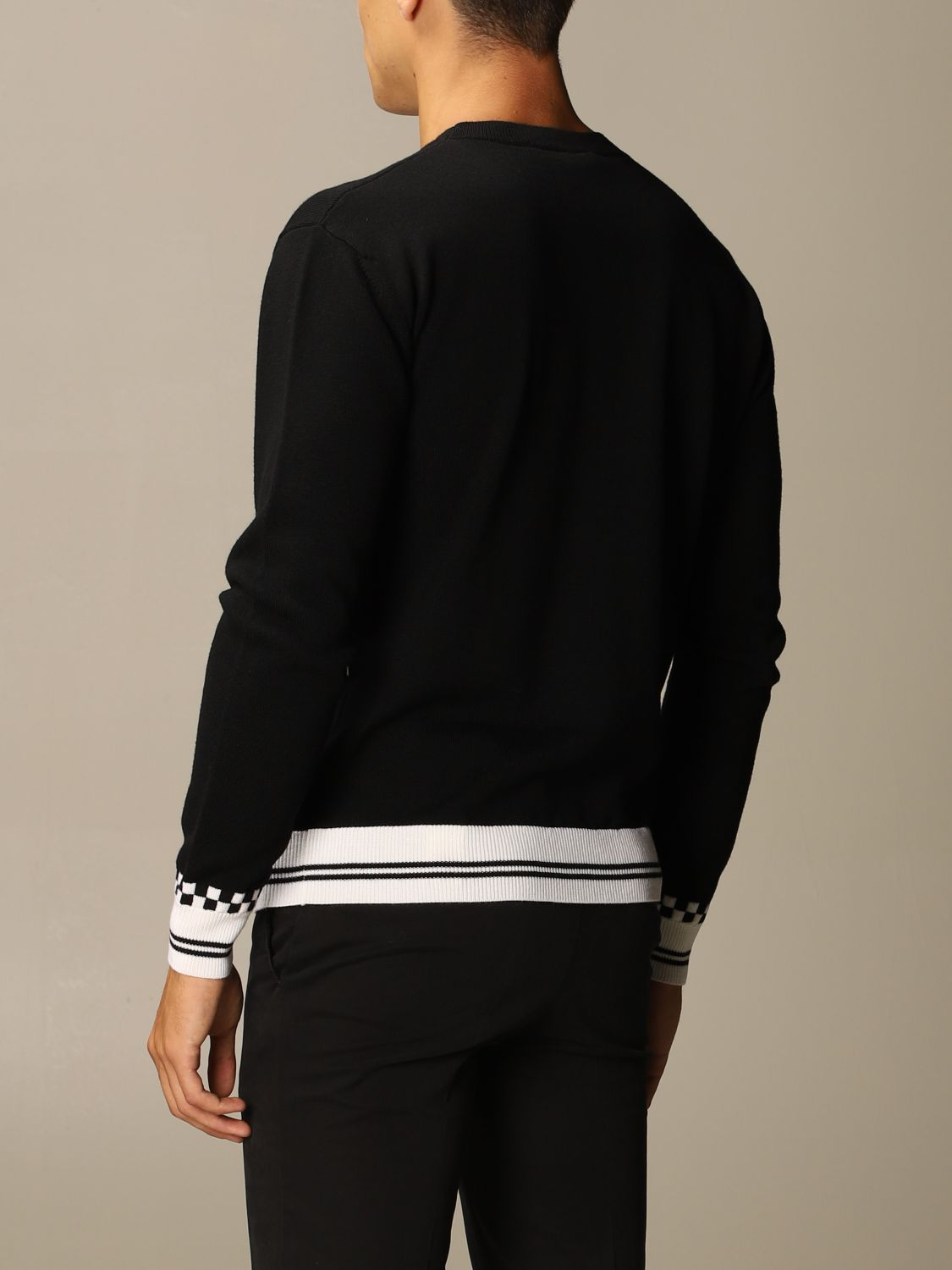 Jumper Versace: Jumper men Versace black 2