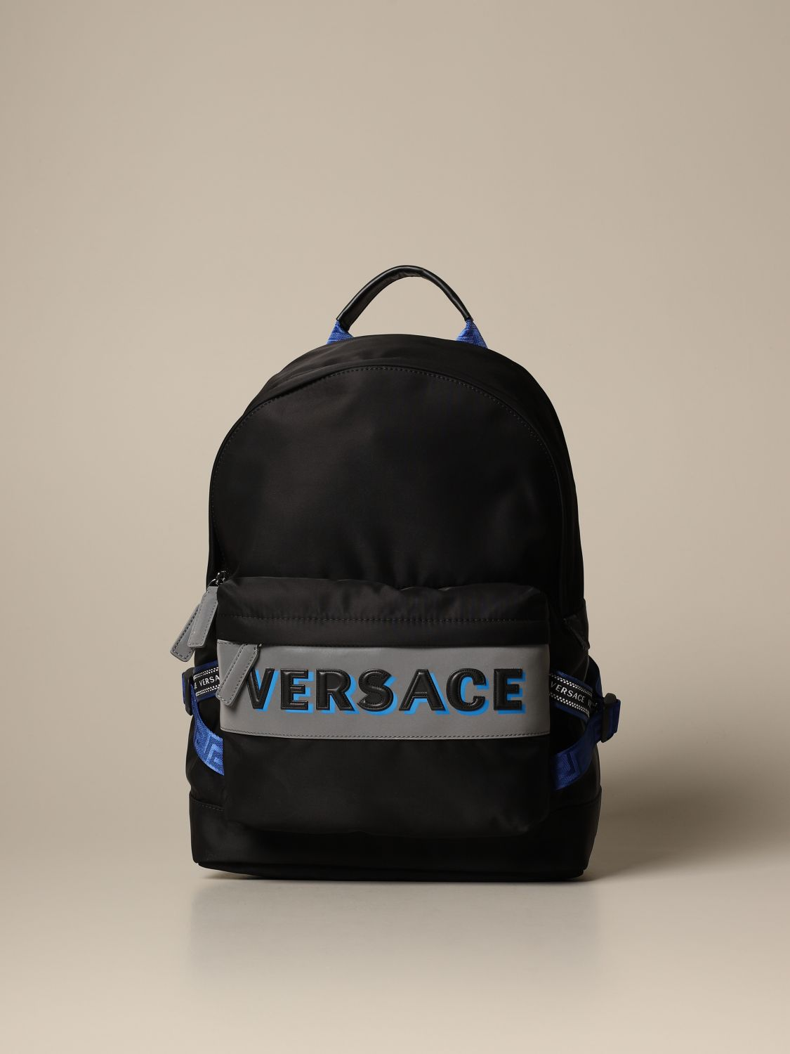 Backpack Versace: Bags men Versace black 1