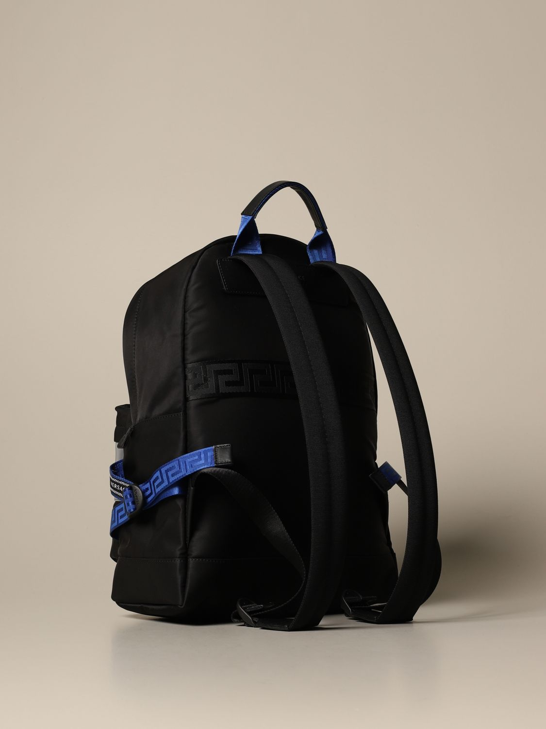 Backpack Versace: Bags men Versace black 2