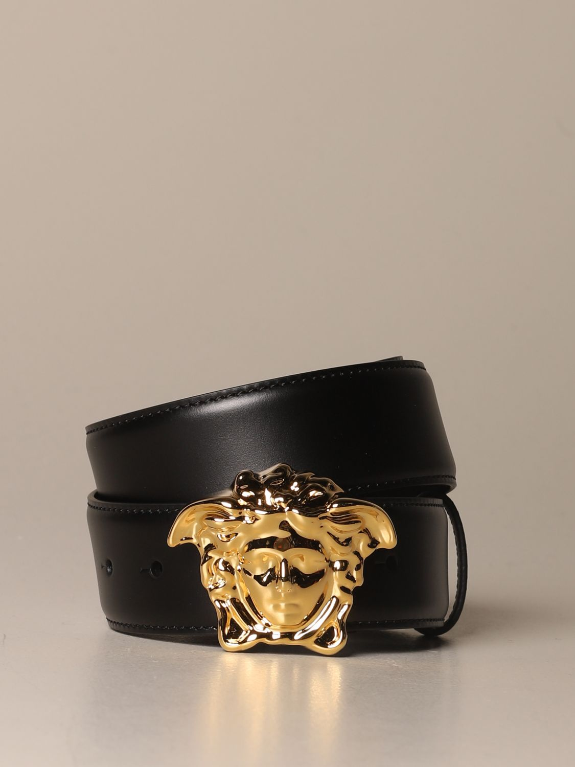 Belt Versace: Belt men Versace black 1