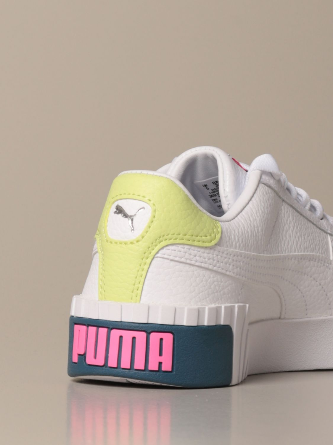 Cali wn's Puma perforated leather sneakers