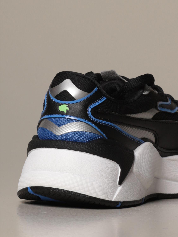Zapatos Puma: Zapatos niños Puma azul oscuro 3