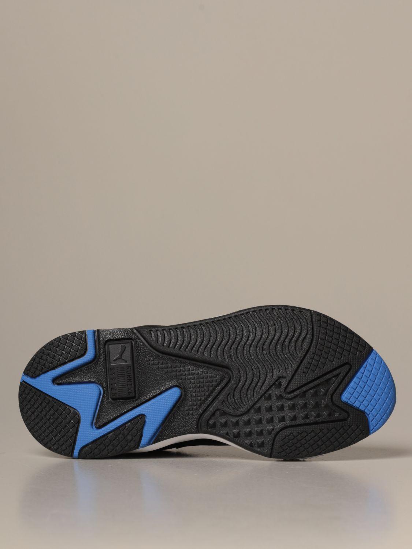 Zapatos Puma: Zapatos niños Puma azul oscuro 5