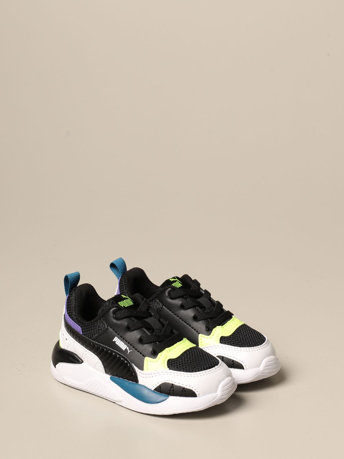 X-Ray Puma sneakers in technical fabric and synthetic leather
