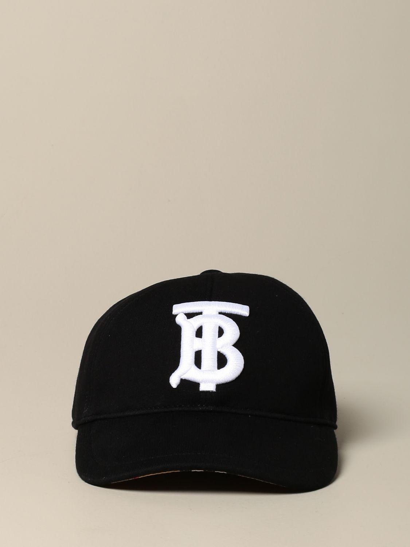 Hat Burberry: Burberry baseball cap with TB logo black 2