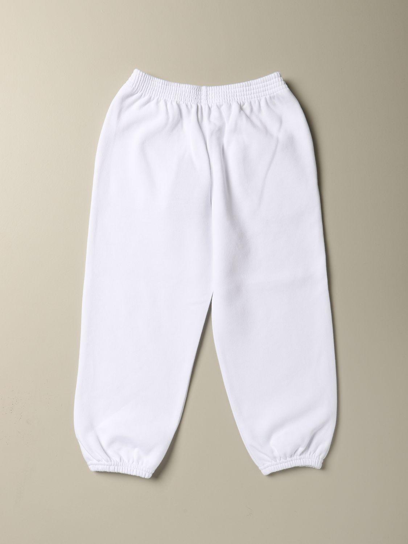Pantalone Balenciaga: Pantalone Political Campaign Balenciaga in cotone bianco 2