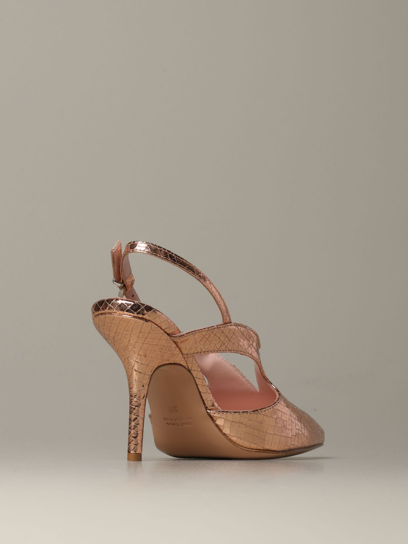 Heeled sandals Anna F.: Shoes women Anna F. blush pink 3